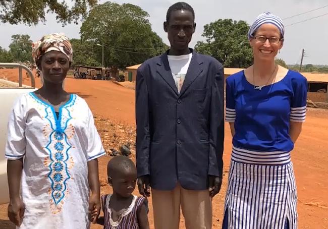 Heidi Haun in Ghana