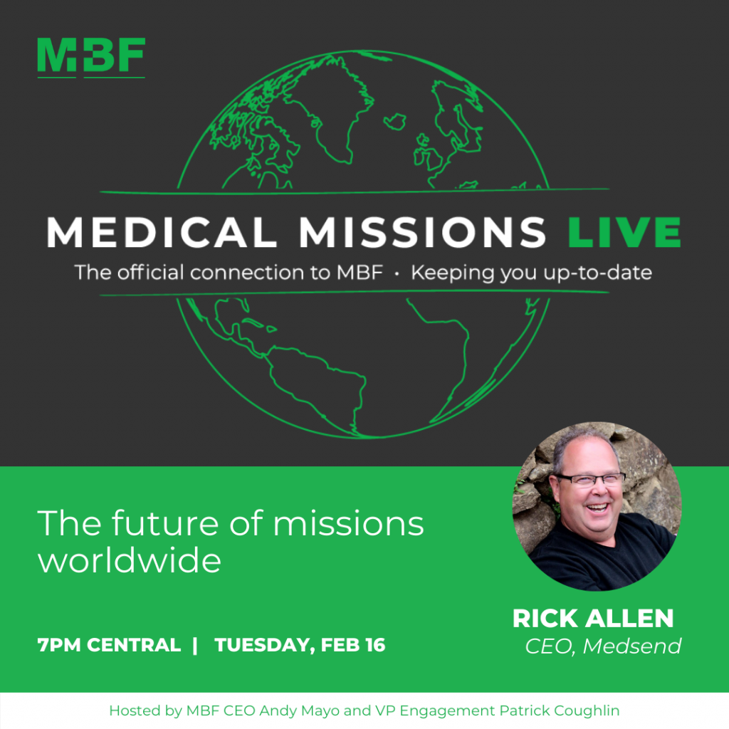 medical missions panel