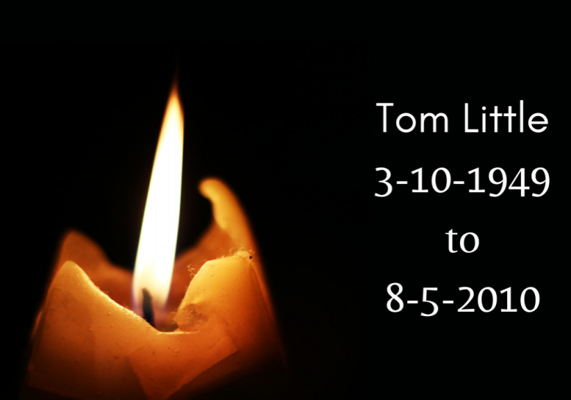 Tom Little 3-10-1949 to 8-5-2010